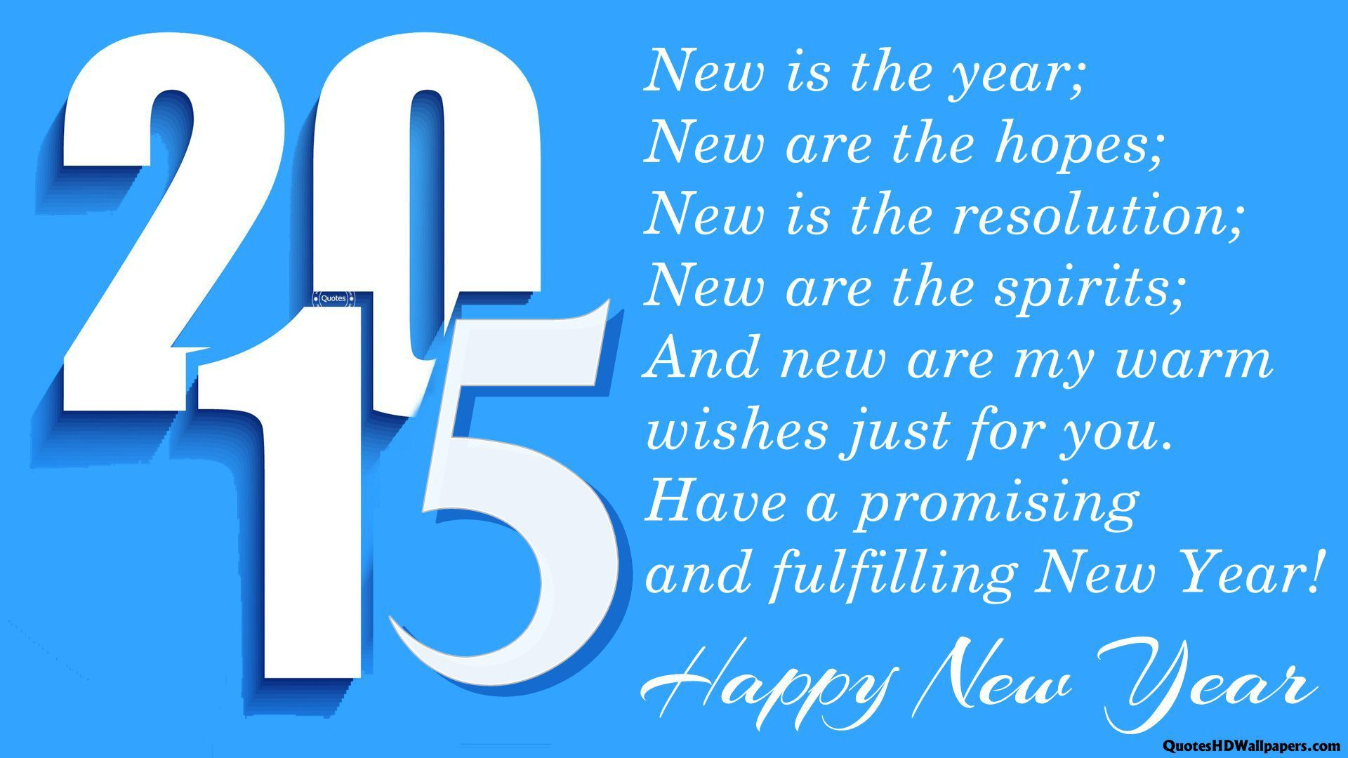 wishing you all a peaceful new year happy new year 2015 greetings wallpaper